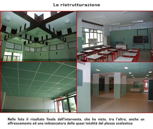 La nuova scuola Mazzini sistemata